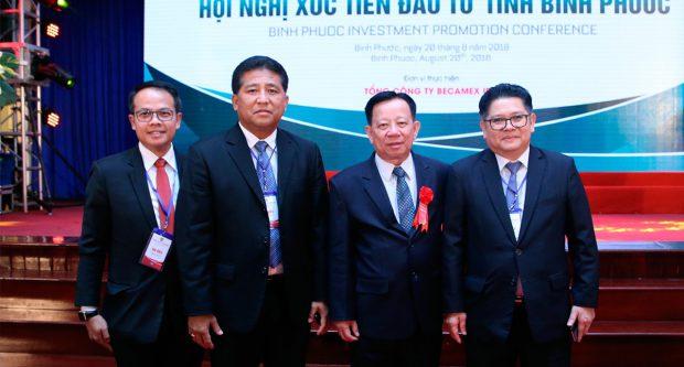 Ảnh hội nghị xúc tiến đầu tư tại tỉnh Bình Phước